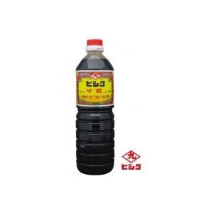 代引不可 ヒシク藤安醸造 こいくち 甘露 1L×10本 箱入り 濃口醤油? 塩分14.5% セット しょうゆ 10本セット 南鹿児島 甘口タイプ 高級しょうゆ 鹿児島|bozu