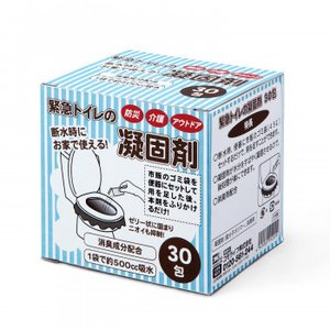 緊急トイレの凝固剤 30包 5.25×10×0.5cm bozu