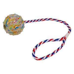 ペット用品 ブンブンボール 004187 ボール直径6.5cm、ヒモ約42cm bozu