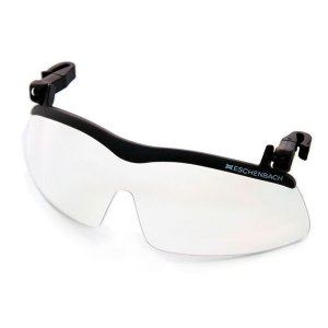 帽子につける保護グラス キャップクリップ サンシェード 2997-29270・クリップセーフティ ヘルメット オーバーグラス 紫外線 ガード メガネ 眼鏡 クリア メガネ bozu