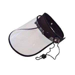 カジメイク バイザー フリーサイズ クリア(90) V-002 uv 紫外線 サン 日よけ 自転車 レイン 便利 雨 調節|bozu