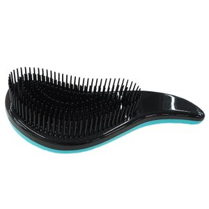 サラサラヘアブラシ WJ-9031 ライトブルー もつれにくい くし 絡みにくい 髪の毛 ビューティー 櫛 握りやすい ヘアケア 長さ:約18.7cm|bozu