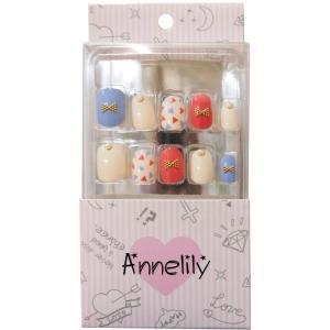 ウイング・ビート ネイルチップ Annelily AN-016|bozu