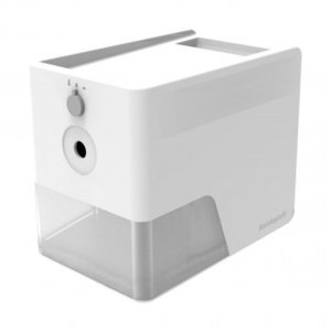 ナカバヤシ 電動鉛筆削りスリムトレータイプ ホワイト DPS-601W|bozu