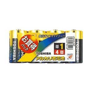 東芝単1アルカリ電池4本 LR20AG 4MP bp-s