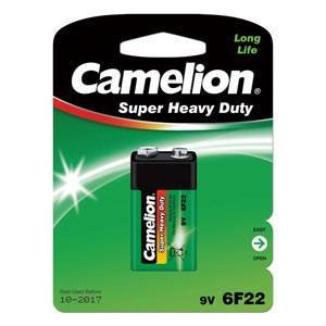 Camelion カメリオン 9V 006P 角型マンガン電池 Super Heavy Duty Batteries グリーン 6F22-BP1G|bp-s
