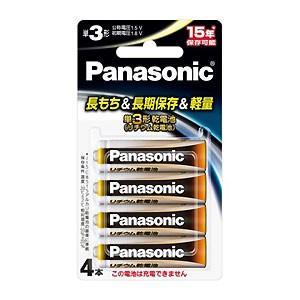 パナソニック 1.5Vリチウム乾電池 単3形4本パック FR6HJ/4B|bp-s
