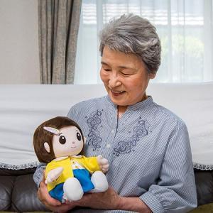 おしゃべり人形で脳トレ【無料ラッピング承ります】ものしりパートナー いっしょに脳トレ おりこうのんちゃん|bp-s|02