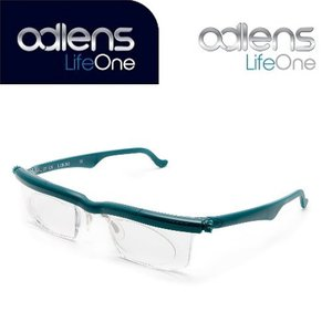 アドレンズ ライフワン グリーン adlens LifeOne 遠視・近視・老眼全対応の視力補正用眼鏡|bp-s