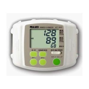 日本精密測器 体脂肪計付手首式デジタル血圧計 WT-300(シロ)【日本製】 bp-s