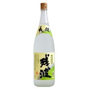 比嘉酒造 残波白 乙 25度 1800ml(沖縄泡盛)|bp-s