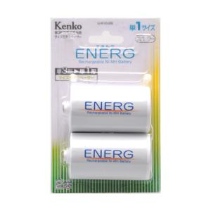 Kenko(ケンコー)単3形電池用 単1変換スペーサー 2本 ENERG U-#10-2B|bp-s