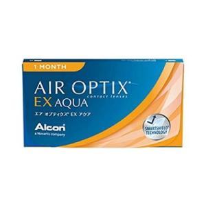 【6箱セット】【ネコポス発送】エアオプティクスEXアクア 1ヶ月使い捨て 3枚入 6箱セット(AIR OPTIX EX AQUA)(O2オプティクス) bp-s