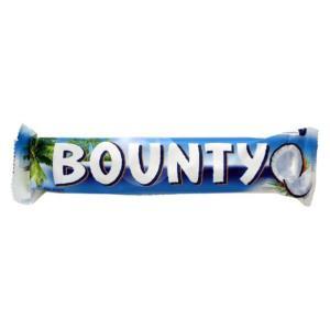バウンティは、1951年に英国とカナダで発売されました。 ココナッツをミルクチョコレートで包んだチョ...