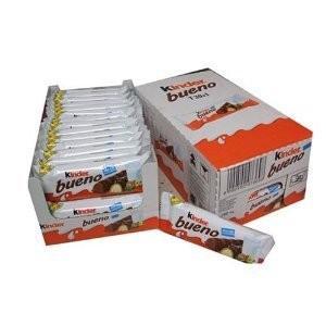 キンダーブエノ Kinder Buenoは、イタリアで国民に昔から愛されているチョコレートブランドで...