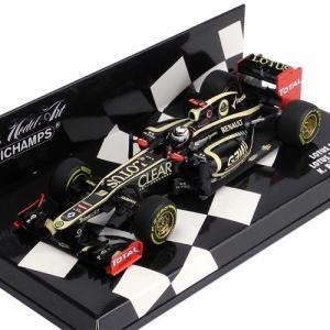 MINICHAMPS 1/43スケール ロータス F1チームルノー E20 K.ライコネン 2012