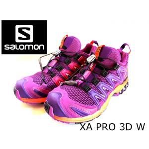 レディース 登山 トレッキング 靴 アウトドア パープル サロモン SALOMON XA PRO 3D 22.5cm 24.0cm|brace-revo