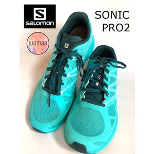 レディースシューズ 靴 ランニング トレーニング サロモン SALOMON SONICPRO2 ソニックゼロ2 L394742|brace-revo