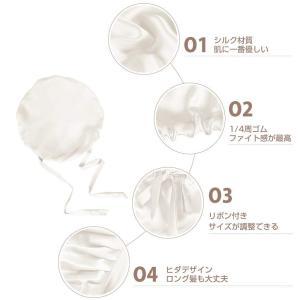 LilySilk(リリーシルク)即日発送渡辺直美さんおススメ 天然シルク100% 枝毛防止保湿 睡眠改善 ロングヘア対応 お休みキャップ 就|braggart4