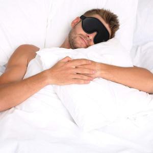 Onlygot アイマスク 安眠 遮光 睡眠 旅行 立体型 低反発 圧迫感なし 軽量 柔らかい 疲労回復 昼寝に最適 (ブルー)|braggart4