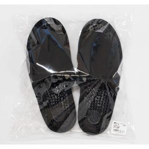オカ 洗える 健康スリッパ ユニセックス Lサイズ (足のサイズ約24cm〜25cm) (ブラック)|braggart4