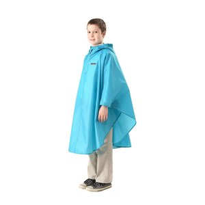 OUTDOOR PRODUCTS(アウトドアプロダクツ) 子供用 レインポンチョ 全6色 全3サイズ サックス 150 145~155cm|braggart4