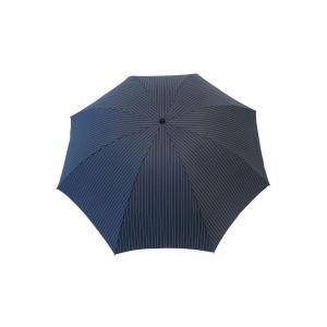 siroca 雨傘 煌 -kirameki- 折り畳み傘 インディゴ×ストライプアルミ+カーボン/DuPont(デュポン)社製/軽量185g|braggart4