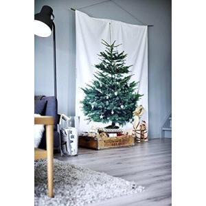 イケア クリスマス ツリー タペストリー もみの木 壁面 大型 パネル 特大