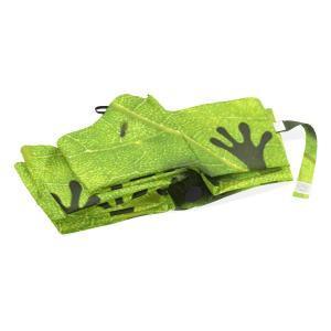 バララ(La Rose) 折り畳み傘 ワンタッチ 自動開閉 軽量 日傘 uvカット 雨傘 折りたたみ 晴雨兼用 かわいい 蛙 カエル 絵 遮|braggart4