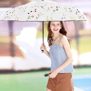 折りたたみ傘 日傘 自動開閉 高強度グラスファイバー 8本骨 晴雨兼用 折り畳み傘 UVカット 紫外線遮蔽率99% 高密度NC布 耐風撥水|braggart4