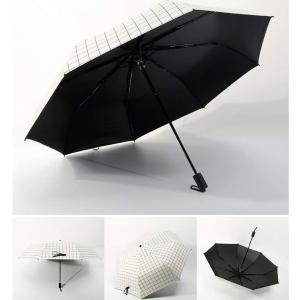 傘 日傘 晴雨兼用 傘 折りたたみ 耐風撥水 折り畳み傘 アンブレラ 8本骨 紫外線遮蔽率99% 耐風骨 丈夫 撥水 軽量 大きい メンズ|braggart4