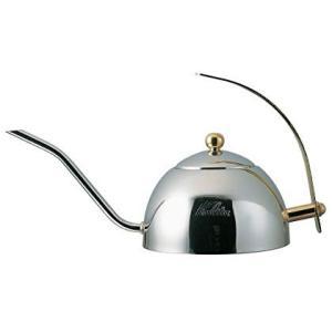 Kalitaドリップポット600Sステンレス製・茶こし付き600ml#52039
