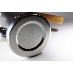 カリタコーヒーポットステンレス製スリム木柄ハンドル0.7LTSUBAME&Kalita700...