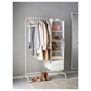 IKEA(イケア) MULIG 80179433 洋服ラック, ホワイト braggart4
