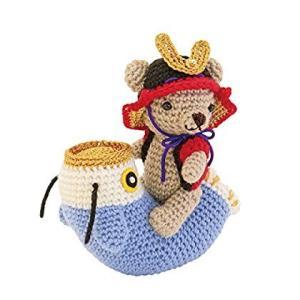 オリムパス製絲 編み物キット こどもの日 くまと鯉のぼりの端午の節句 MK69|braggart4