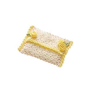 オリムパス製絲 編み物キット エミーグランデ ロマンティックレース ローズモチーフのティッシュケース EG-96|braggart4