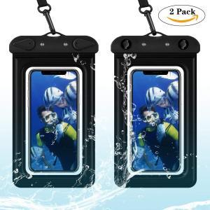 防水ケース 防水ポーチ スマホ用 携帯防水ケース 防水カバー 浮く 気嚢付き 完全防水 防水等級IPX8高感度タッチスクリーン 防塵/防雨/|braggart4