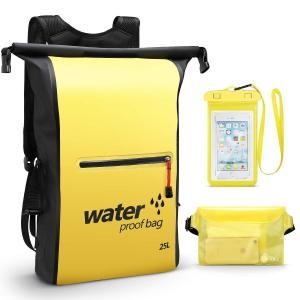 防水 ドライバッグ バッグ 防水 リュック リュックサック 大容量 25L 超軽量 アウトドア パック 収納袋 登山 釣り 旅行用 サイクリ|braggart4