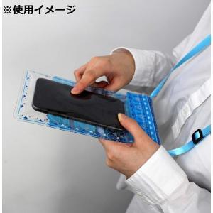 高波クリエイト I'm Doraemon ドラえもん 防水ケース スマホ用 IPX8 PVCタッチスクリーン 窒息防止クリップ付属 防水マル braggart4