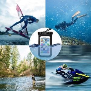 この防水携帯ケースには、Afaroffが2点入りました,IPX8防水規格認証に合格し、防水、防塵の性能を持っています,サーフィン、スキー、水 braggart4