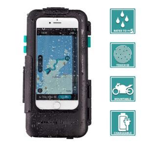 iPhone 専用 ハードケース バイク 自転車 アウトドア 防水防塵耐震(IPX5) iPhone 6 / 6S / 7 / 8 専用設計 braggart4