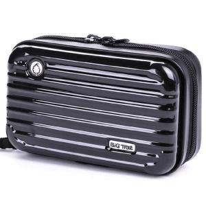 ビッグツリー 多機能ポーチ ミニ スーツケース型 コンパクト ハードケース 全4色(ブラック) braggart4
