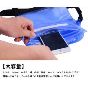 防水ポーチ 3重チャック Javisee PVC素材 防水ケース 携帯 財布 カメラ パスポート 防水バッグ アウトドア 海水浴 プール 釣|braggart4