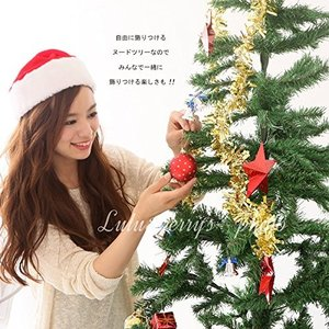 Lulu&berry 特大 ツリー クリスマスツリー クリスマス ヌードツリー もみの木 180cm|braggart4