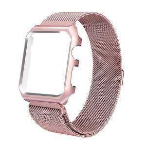 Grotech For Apple Watch バンド ケース付き アップルウォッチバンド マグネッ...