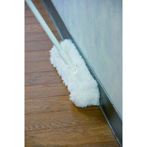 アズマ 『水拭き・から拭き用フローリングモップ』 モコモスリムモップ 伸縮柄