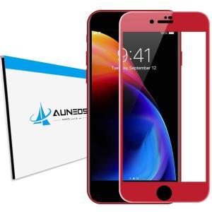 『4D全面』AUNEOS iPhone 8 Plus フィルム iPhone8 Plus ガラスフィ...