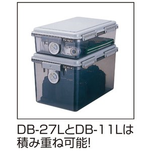 ナカバヤシ キャパティ ドライボックス 防湿庫 27L グレー 97025