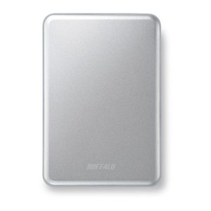 BUFFALO アルミ素材&スリム ポータブルHDD 2TB シルバー HD-PUS2.0U3-SC braggart4