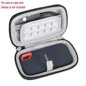 SanDisk 外付SSD 250G 500G 1TB 2TBエクストリーム ポータブル専用保護旅行収納キャリングケース-Hermitshe|braggart4